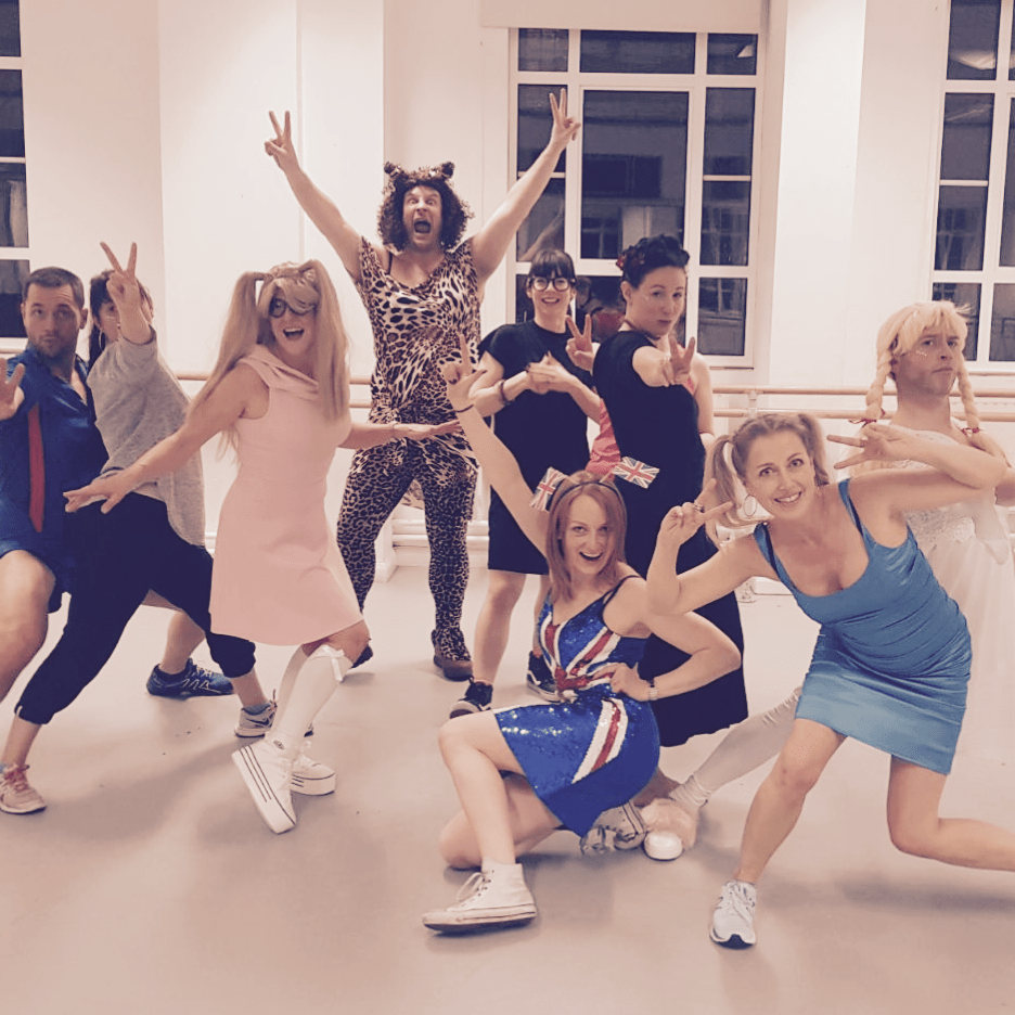 Spice Girls Dance Party