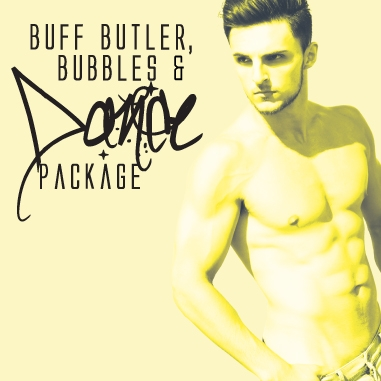 Buff Butler & Bubbles Hen Party Dance Class, Dance Party Experience