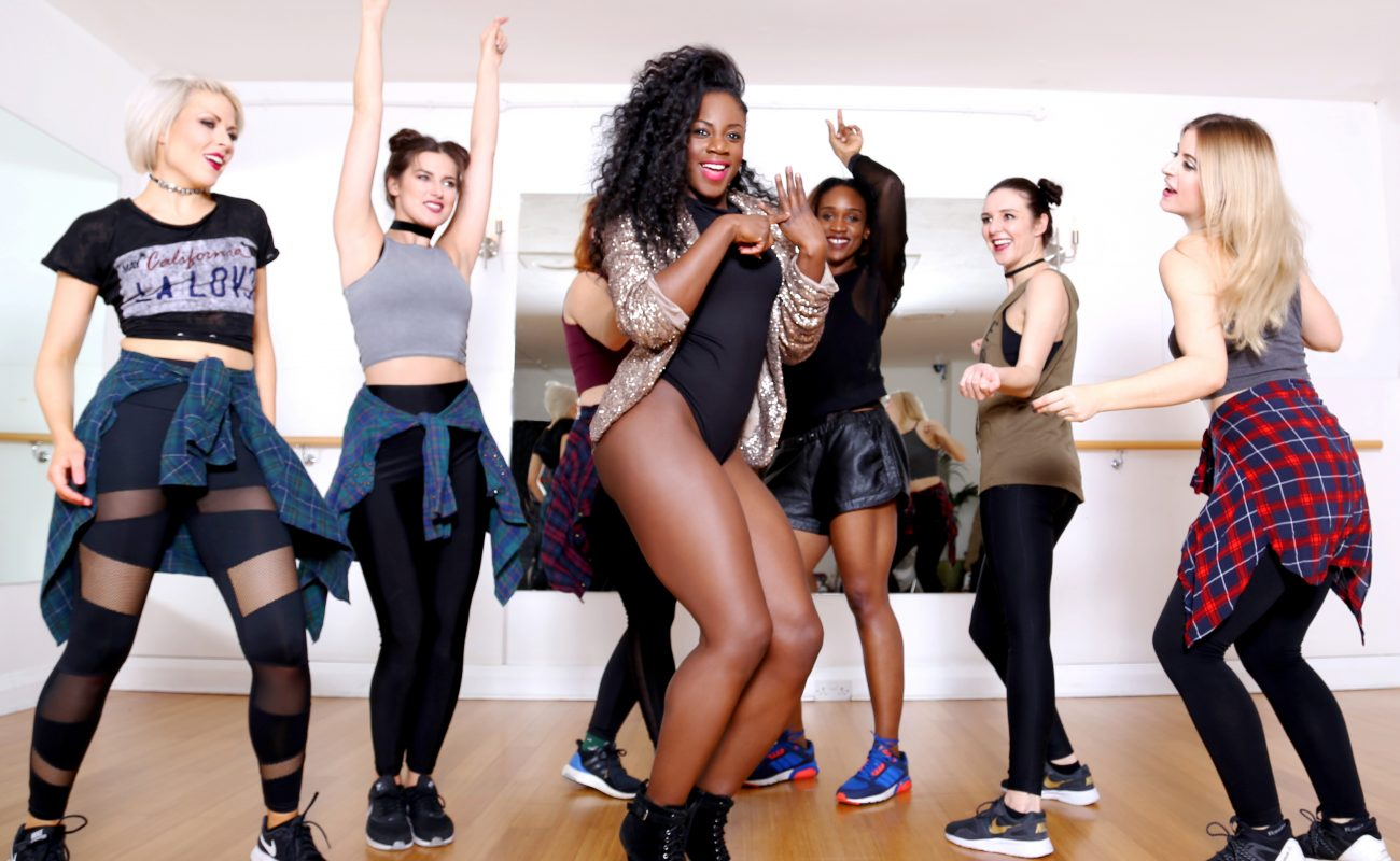 Beyonce Hen dance class, Dance Party Experience
