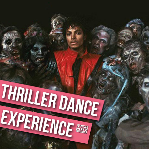 Thriller dance class with Dance Party Experience