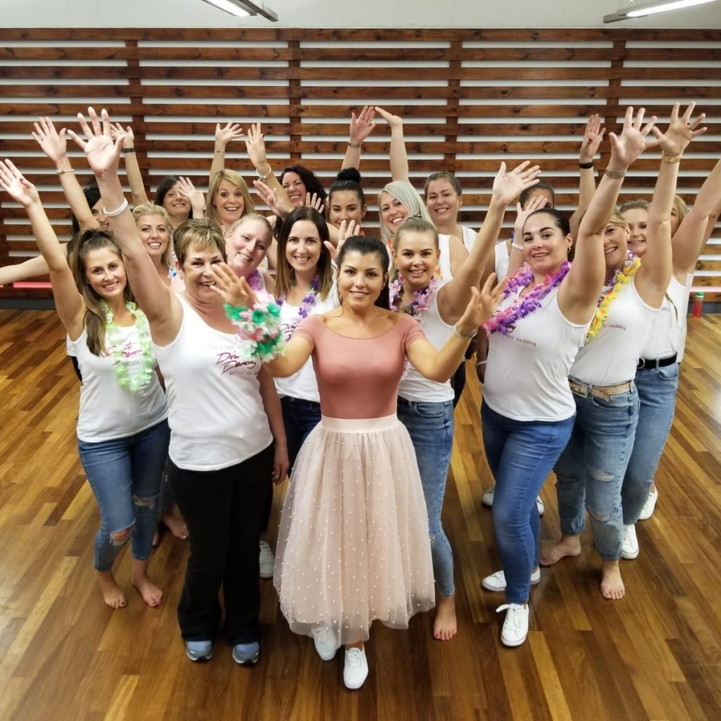 Dirty Dancing Hen party dance class with Dance Party Experience
