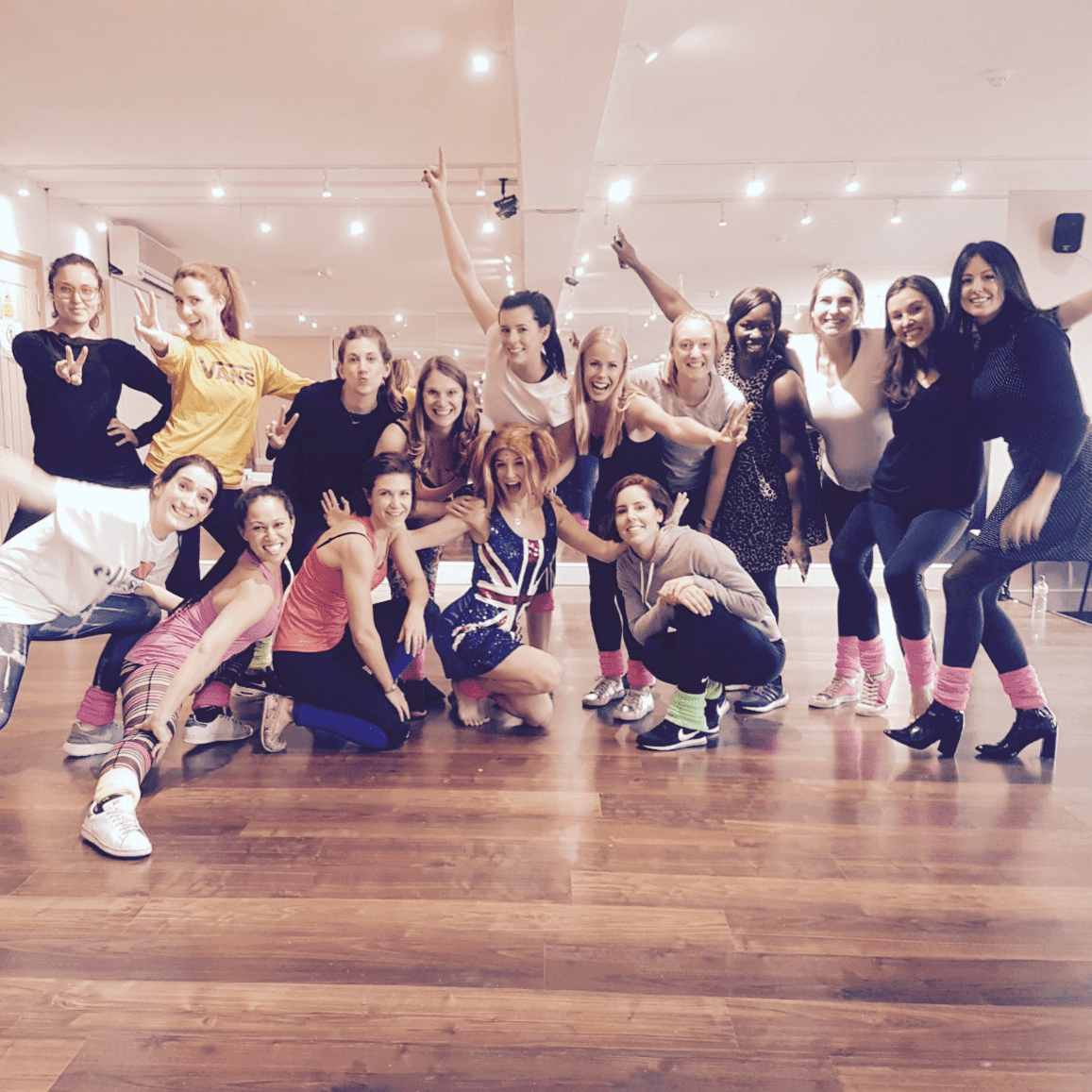 90's Hen party dance class, Dance Party Experience